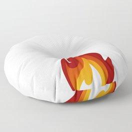 I Play with Fire Pyromaniac Fireman Appreciation T-Shirt Floor Pillow