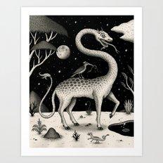 The Questing Beast Art Print