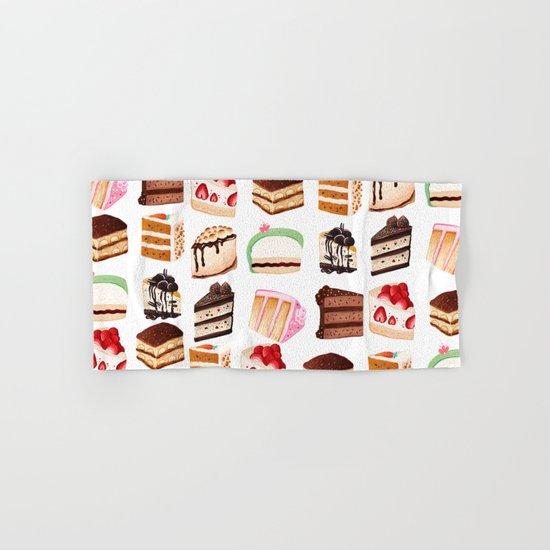 Yummy Cakes Hand & Bath Towel