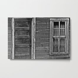 The Grand Door And Window Metal Print