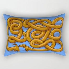 Dog Greetings Rectangular Pillow