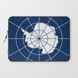 Flag of Antarctica Laptop Sleeve