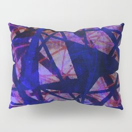 Fading Ley Lines (blue colourway) Pillow Sham