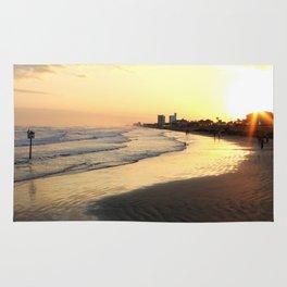 Sunset in Galveston Rug