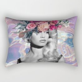 Bardot In A Bouquet Rectangular Pillow