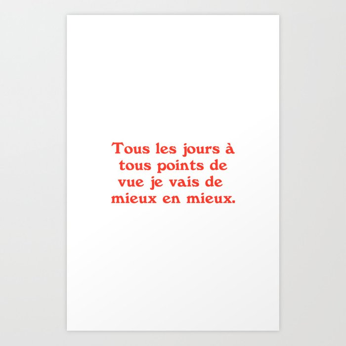 Every Day / 3 Art Print