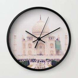 Beautiful man-made wonder Taj Mahal Wall Clock