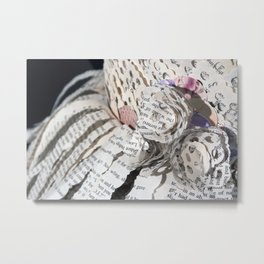 Emil and La Vie En Rose II Metal Print
