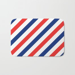 Barber Stripes Bath Mat