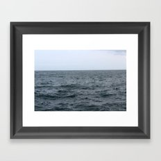 Stormy Waves Framed Art Print