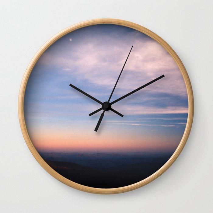 Moon Over Boone Wall Clock