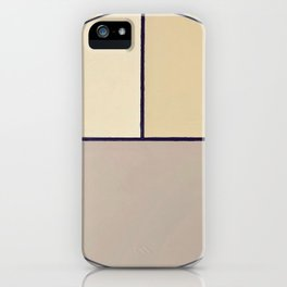 Toned Down- navy stripe iPhone Case