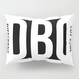 DBC w/ Tag on side Pillow Sham