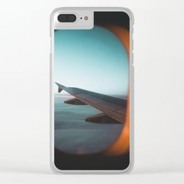 Airplane Travel Clear iPhone Case