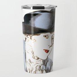 Hat from bygone Era Travel Mug