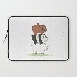 We Bare Bears by Maria Piedra Laptop Sleeve
