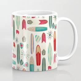 Surf's Up in the 1950's Coffee Mug