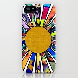 Graffiti Sunrays iPhone Case