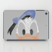 donald duck iPad Cases featuring MICKEY MOUSE: PAPERINO DONALD DUCK by DrakenStuff+