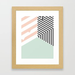 Mint Room #society6 #decor #buyart Framed Art Print