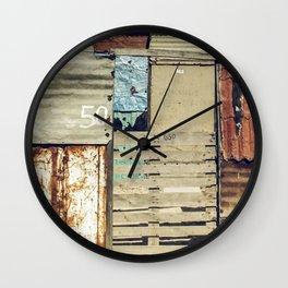arquitectura de crisis Wall Clock