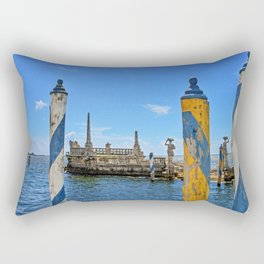 Vizcaya Barge Adventures Rectangular Pillow