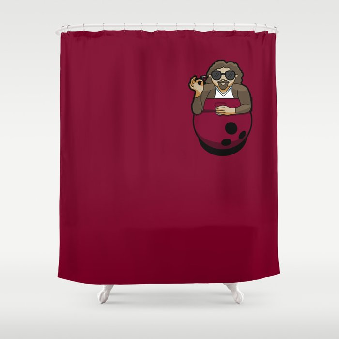Pocket Dude (03) Shower Curtain
