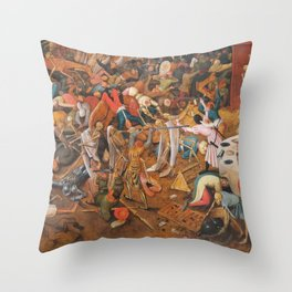 The triumph of Death Throw Pillow
