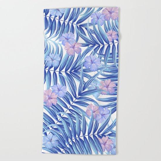 Hawaiian Pattern Beach Towel