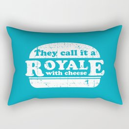 Pulp Fiction - royale with cheese Rectangular Pillow