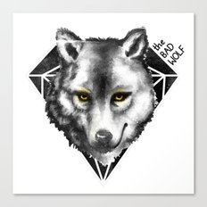 The Bad Wolf Canvas Print