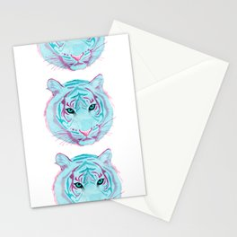 Tyger, Tyger, Burning Blue Stationery Cards