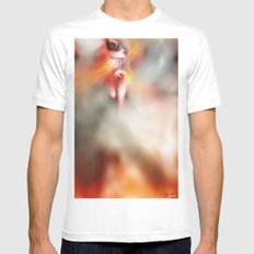 Decide Mens Fitted Tee White MEDIUM