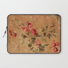 Vintage Floral Pattern Laptop Sleeve