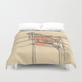 Wires Duvet Cover