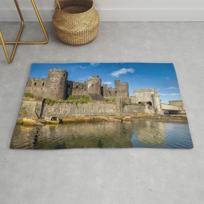 Conwy Castle Rug