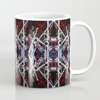 calligraphy Mugs featuring Abstract Calligraphy  by Martha Calderon