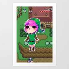 Link to the past Art Print
