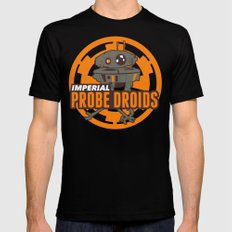 Imperial Probe Droids Mens Fitted Tee Black MEDIUM