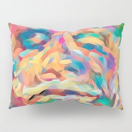 Abstract Rainbow Camouflage I Pillow Sham