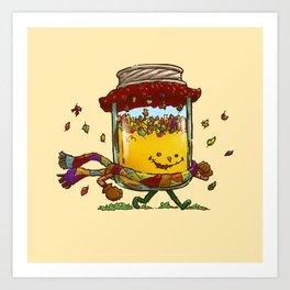 Fall Jam Art Print