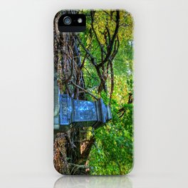 Autumn in the Cemetery iPhone Case