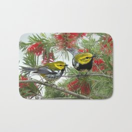Black-throated Green Warbler Bath Mat