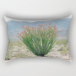 Ocotillo Plant (Anza Borrego Desert, California) Rectangular Pillow