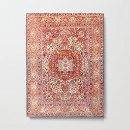 Tabriz Azerbaijan Northwest Persian Rug Print Metal Print