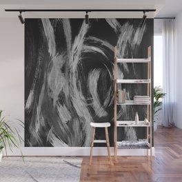 Brushstrokes Abstract Minimalism #2 #minimal #decor #art #society6 Wall Mural