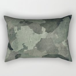 Dirty camouflage texture Rectangular Pillow