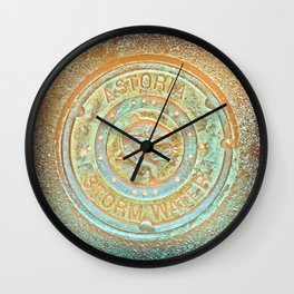 Astoria Storm Water, Psycedelic Wall Clock