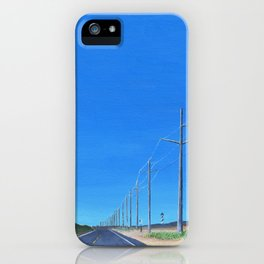 Highway 12 South iPhone Case