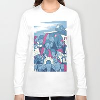 eternal sunshine Long Sleeve T-shirts featuring Eternal Sunshine of the Spotless Mind by Ale Giorgini